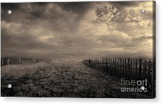 End Of The Way Acrylic Print by Evgeniy Lankin