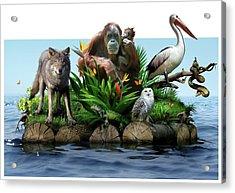 Endangered Animals Acrylic Print