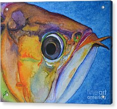 Endangered Eye IIi Acrylic Print by Suzette Kallen