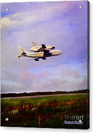 Endeavour The Final Flight Acrylic Print