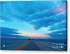 Endless Bridge Acrylic Print by Judy Via-Wolff