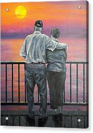 Endless Love Acrylic Print by Susan DeLain