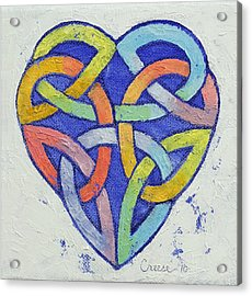 Endless Rainbow Acrylic Print by Michael Creese
