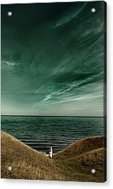 Endless Sea Acrylic Print by Kristoffer Jonsson