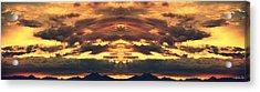 Endless Summit Acrylic Print by Augustina Trejo