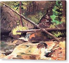 Endo Valley - Colorado Acrylic Print