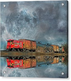 End's Reflection Acrylic Print by Betsy Knapp