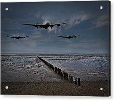 Enemy Coast Ahead Skipper Acrylic Print