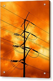 Energized Acrylic Print by Don Spenner