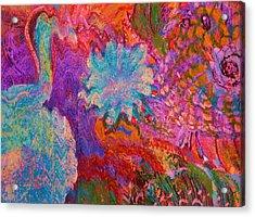 Energy Burst I Acrylic Print by Anne-Elizabeth Whiteway