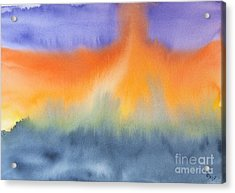 Energy Force Acrylic Print by Susan  Dimitrakopoulos