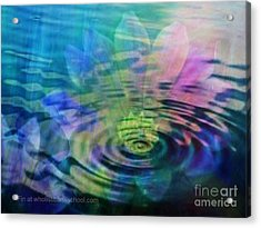Energy Ripples Acrylic Print by PainterArtist FIN