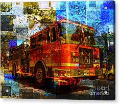 Engine 181 Acrylic Print by Robert Ball