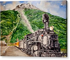 Engine 478 Acrylic Print by Jessica Tookey
