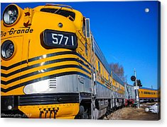 Acrylic Print featuring the photograph Engine 5771 by Shannon Harrington