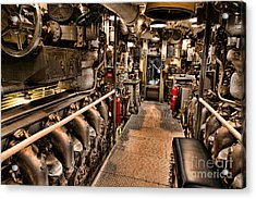 Engine Room Acrylic Print