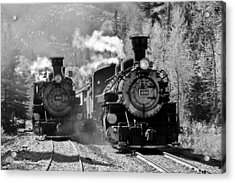 Engines 480 And 486 Acrylic Print by Marta Alfred
