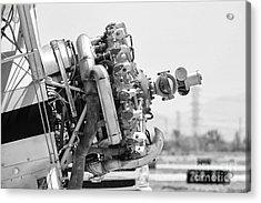 Engines Ready Acrylic Print by Mkaz Photography