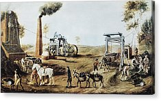 England 18th C.. Industrial Revolution Acrylic Print by Everett