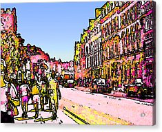 England 1986 Oxford Street Snapshot0145a2 Jgibney The Museum Zazzle Gifts Acrylic Print by The MUSEUM Artist Series jGibney