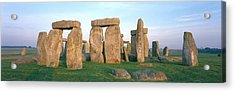 England, Wiltshire, Stonehenge Acrylic Print by Panoramic Images