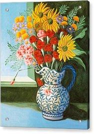 English Bouquet Acrylic Print