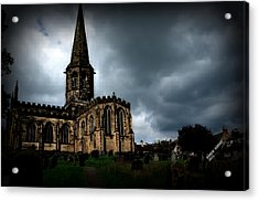 English Church Acrylic Print