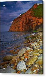 English Coastline Acrylic Print