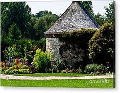 English Cottage Garden Acrylic Print