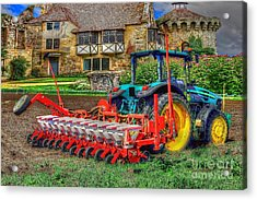 English Countryside Acrylic Print by L Wright