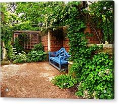 English Garden Acrylic Print