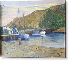 English Harbour Acrylic Print