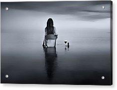 Enjoy The Silence Acrylic Print by Maria Kaimaki