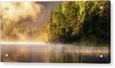 Enjoying Nature Acrylic Print