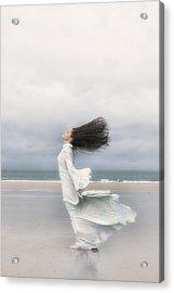 Enjoying The Wind Acrylic Print by Joana Kruse