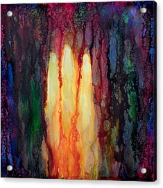 Enlightened Trinity  Acrylic Print