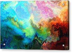 Enlightenment Acrylic Print by Jury Onyxman