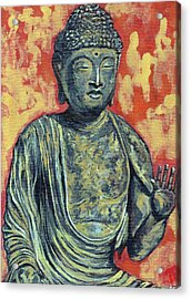 Enlightenment Acrylic Print by Tom Roderick