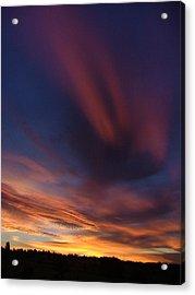 Ennis Sunrise Acrylic Print