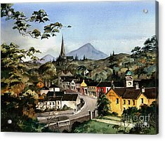 Enniskerry Panorama Wicklow Acrylic Print