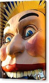 Enormous Smiling Face Acrylic Print
