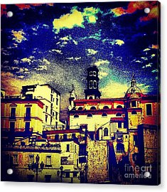 Enraptured By Amalfi Acrylic Print by H Hoffman