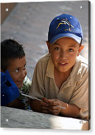 Ensenada Boys 07 Acrylic Print