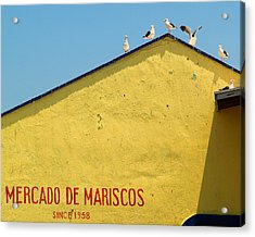 Ensenada Harbour Fish Market 33 Acrylic Print