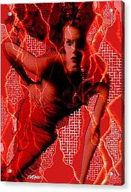 Ensnared Acrylic Print by Seth Weaver