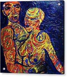 Entangled Acrylic Print by Michaela Kraemer