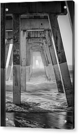 Enter At Your Own Risk Acrylic Print