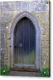 Acrylic Print featuring the photograph Enter At Your Own Risk by Suzanne Oesterling