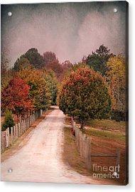 Enter Fall Acrylic Print by Jai Johnson
