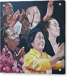 Enter-racial Praise Acrylic Print